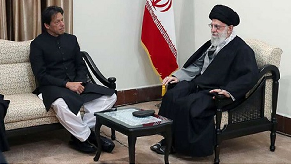 Prime Minister of Pakistan Imran Khan wearing ChaCha Noor Din Kaptaan Chappal during state visit of Iran and meetup with The President of Iran Hassan Rouhani.